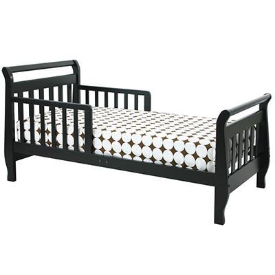 DaVinci Sleigh Toddler Bed, Ebony