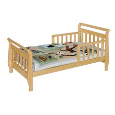 DaVinci Sleigh Toddler Bed, Natural