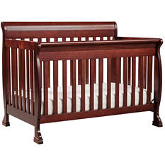 DaVinci Kalani 4-in-1 Convertible Crib with Toddler Rail (Choose Your Color)