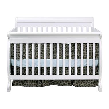 Cadence 4-in-1 Crib - White