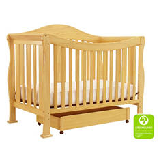 DaVinci Parker 4-in-1 Convertible Crib with Toddler Rail (Choose Color)
