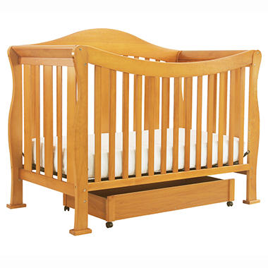 DaVinci Parker 4-n-1 Convertible Crib with Toddler Rail - Oak