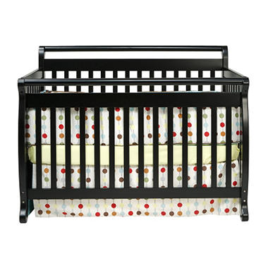 Lily 4-in-1 Crib - Ebony
