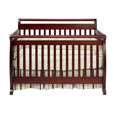 Lily 4-in-1 Crib - Cherry