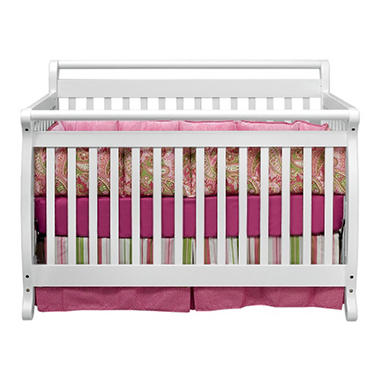 Lily 4-in-1 Crib - White