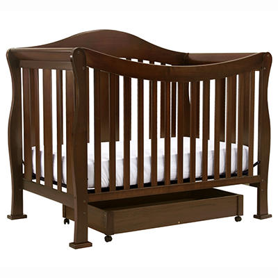 Parker 4-n-1 Convertible Crib - Coffee