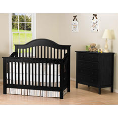 DaVinci Jayden 4-in-1 Crib - Ebony
