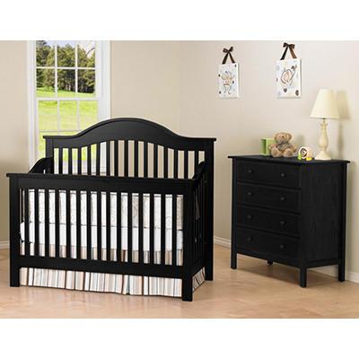 DaVinci Jayden 4-in-1 Crib - Ebony
