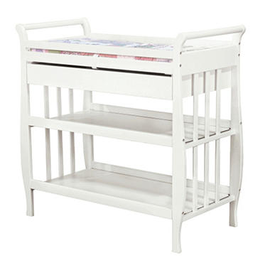 Lily Changing Table - White