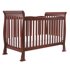 DaVinci Reagan 4-in-1 Convertible Crib with Toddler Rail, Cherry