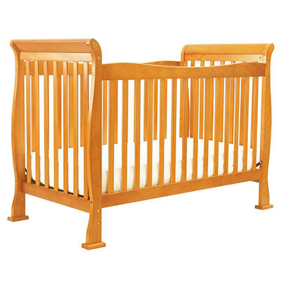 DaVinci Reagan 4-in-1 Convertible Crib with Toddler Rail, Oak