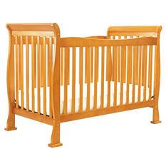 DaVinci Reagan 4-in-1 Convertible Crib with Toddler Rail, Oak