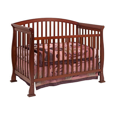 DaVinci Thompson 4-in-1 Convertible Crib with Toddler Rail, Cherry