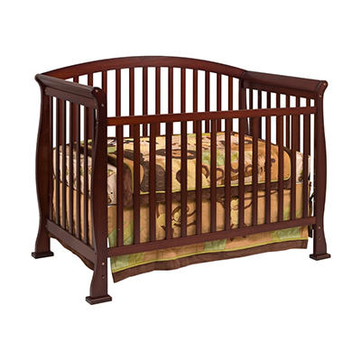 Davinci Thompson 4-in-1 Convertible Crib with Toddler Rail, Coffee