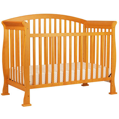 DaVinci Thompson 4-in-1 Convertible Crib with Toddler Rail, Oak
