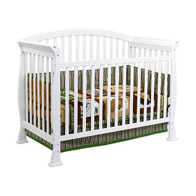 DaVinci Thompson 4-in-1 Convertible Crib with Toddler Rail, White