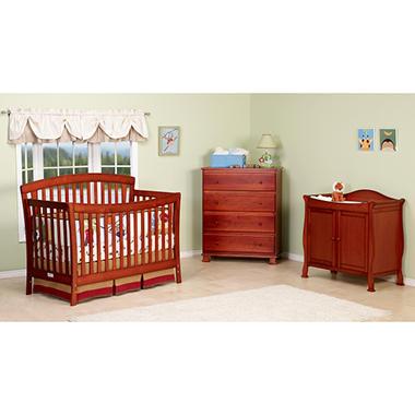 DaVinci Rivington 4-in-1 Crib - Cherry