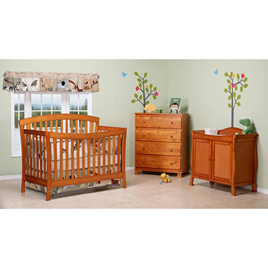 DaVinci Rivington 4-in-1 Crib - Oak