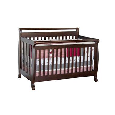 Babymod Lily 4-in-1 Crib, Espresso
