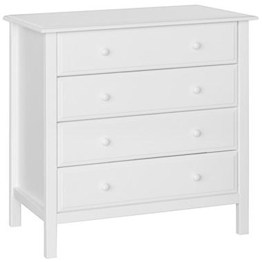 DaVinci Jayden 4 Drawer Dresser - White