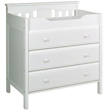 DaVinci Jayden Changing Dresser, White