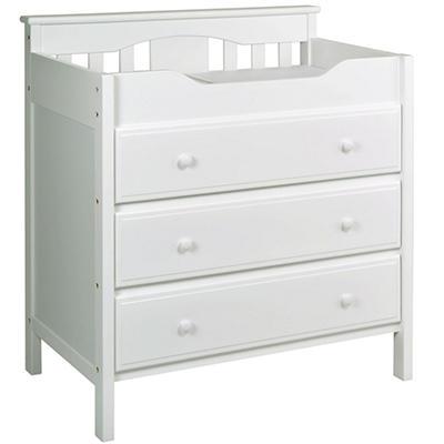 DaVinci Jayden Changing Dresser - White