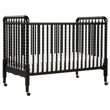 Jenny Lind 3-in-1 Convertible Crib - Ebony