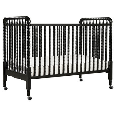 Jenny Lind 3-in-1 Convertible Crib - Ebony