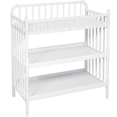 DaVinci Jenny Lind Changing Table, White (Changer Pad Included)