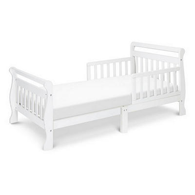 DaVinci Sleigh Toddler Bed, White