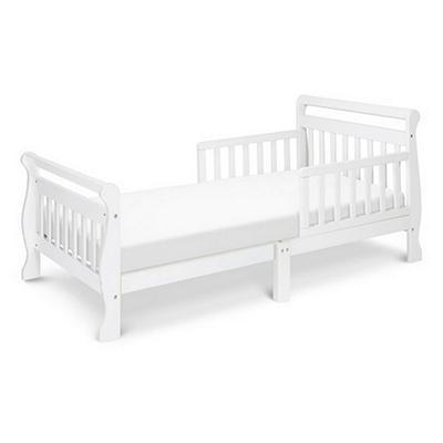 DaVinci Sleigh Toddler Bed, White