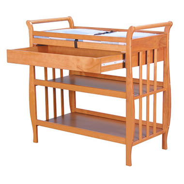 Lily Changing Table - Oak