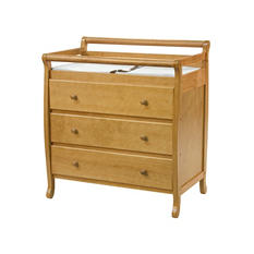 DaVinci Emily 3-Drawer Changer Dresser, Oak