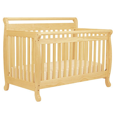 DaVinci Emily 4-in-1 Convertible Crib with Toddler Rail - Natural