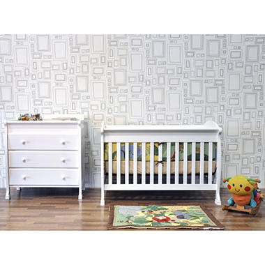 DaVinci Jacob 4-in-1 Crib - White