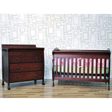 DaVinci Jacob 4-in-1 Crib - Cherry