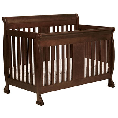 DaVinci Porter 4-in-1 Convertible Crib with Toddler Rail - Espresso