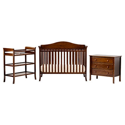 Babymod Bella 3-Piece Nursery Set (Choose Your Color)