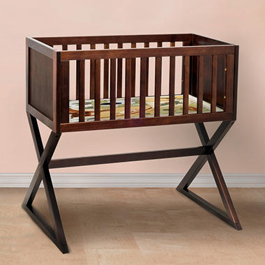 Babymod Convertible Bassinet - Espresso