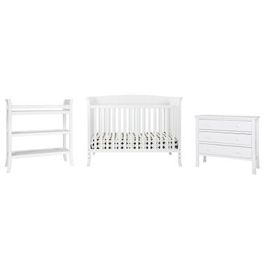 Tyler 5 Piece Nursery Set - White