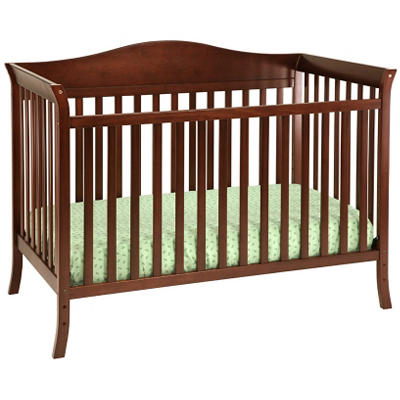 Babymod Bella 4-in-1 Convertible Crib, Espresso