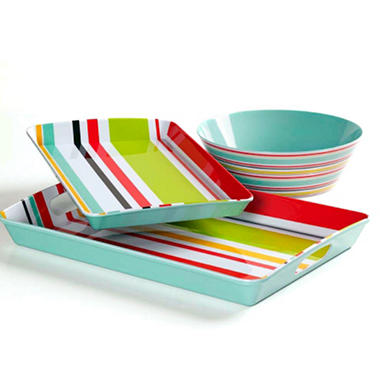 Melamine Serving Set - 3 pc.