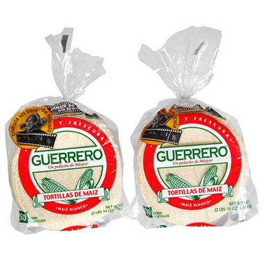 Guerrero® White Corn Tortillas - 50 ct. - 2 pk.