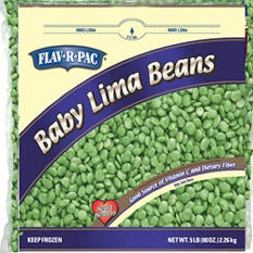 Baby Lima Beans - 5 lbs.