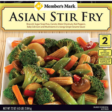 Flav-R-Pac Asian Stir Fry (4 lb. 8 oz.)
