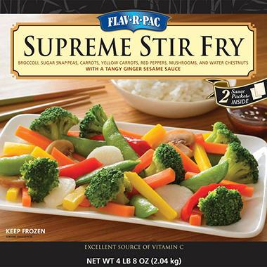 Flav-R-Pac Supreme Stir Fry (4 lbs. 8 oz.)