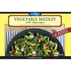 FLAV-R-PAC Vegetable Medley with Asparagus (4 lb.)