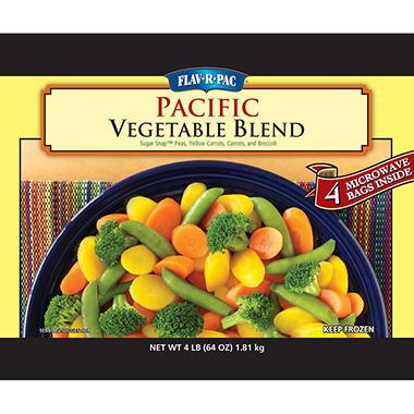Flav-R-Pac Pacific Blend Vegetables - 4 lbs.