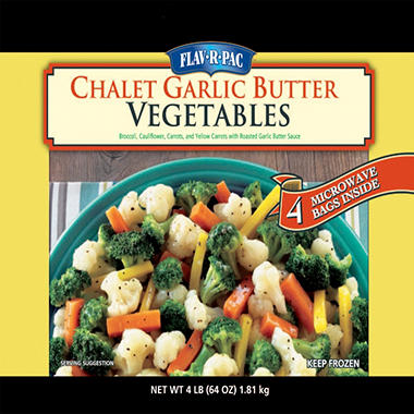 Flav-R-Pac Chalet Garlic Vegetables - 64 oz.