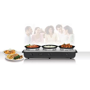 Crock-Pot® Slow Cooker Trio Cook & Serve